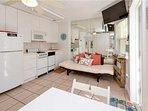 Kitchen Area and Twin Sleeper