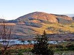 Lough Corrib and surrounding hills