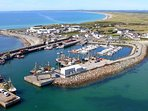 Aerial view of Kilmore Quay