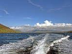A view of Connemara from the sea