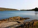 Nearby shoreline