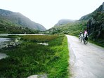 Horse riding at the gap of Dunloe