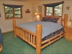 Master Bedroom - Very Comfy King Bed, Down Duvet
