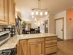 Kitchen offers large and small appliances