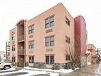 Parking is readily available and the entrance to the condo is on the left side of the building no the second floor.
