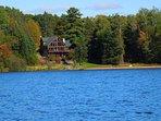 Luxury Lakefront Cabin On 5,000 Acre -Lac Courte Oreilles, Hayward's Finest Lake