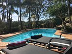 Beach House on Neurum - Large 4 Bedroom beach house, Pool, Deck area - Pets OK