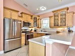 Fully Stocked Kitchen with All Essential Amenities; Perfect for Home Cooked Meals!