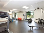 Keep in Shape in the Shared Fitness Room