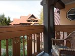 Private Balcony offers Beautiful Mountain Views
