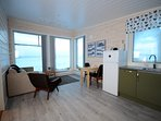 Our new apartments - modern and comfortable and with an amazing view.