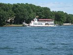 Lake Norman is Huge. Sight see on the Catawba Queen, rent a boat, or bring yours.  Condo has a slip.