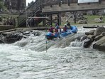 National White Water Center has enough activities that you can spend a whole day.