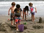 Grand kids playing in the sand. They loved it!