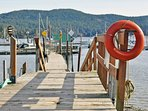 Step out your door and into the marina