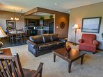 The 2 Bedroom Suite can accommodate up to 6 people
