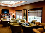 Enjoy a coffee or tea and relax in the Resort's comfy lounge area while reading the morning's newspaper