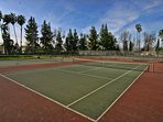 4 Tennis Courts - across the street at local park