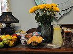 Breakfast Bar at the R&B Bed and Breakfast on world famous Frenchmen Street