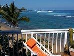 Private Beachfront Deck