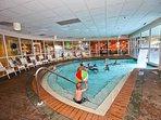 Pelican heated indoor pool.
