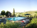 Hilltop Country Villa with 4 Bedrooms in Tuscany