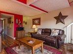 Living Room, Full Sleeper Sofa , 42 In Smart TV