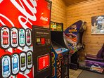 Arcade Games located in Club House