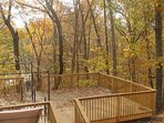 Fall color from the Deck