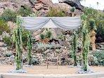 Raised Ceremony Area