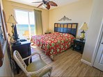 Master BR overlooking the Gulf - wake up every morning to the sound of waives!