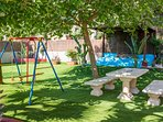 play area for family recreational activities
