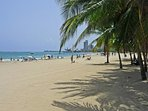 Isla Verde beach at your feet!