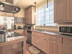Fully equipped kitchen with tons of amenities