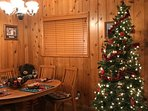 Christmas time at the lodge