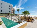 Building,Balcony,Palm Tree,Tree,Beach