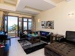 Comfortable spacious living room