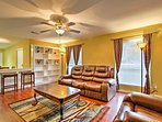Escape to this 2-bedroom, 1-bathroom vacation rental house in Katy that comfortably sleeps up to 6 guests for the...
