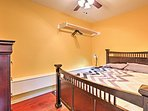 Enjoy great nights of sleep in this comfortable full-sized bed.