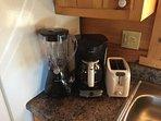 Blender, Coffee Maker, Toaster