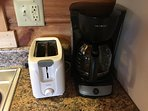 Toaster and Coffee Maker!