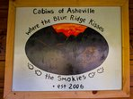 Come stay with us at Cabins of Asheville