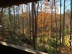 Great view from covered porch!