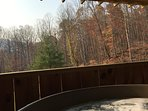 Great View from Hot Tub!