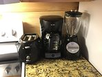 Toaster, Coffee Maker and Blender!