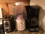 Toaster, Blender and Coffee Maker!