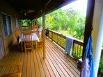 360 degree wrap around deck
