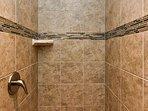 Upstairs Master Bedroom Shower