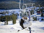 Honey, let's ditch the wedding party and go Snowboarding!  Do you think anyone will notice?