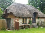 Thatched annexe available at small extra  charge